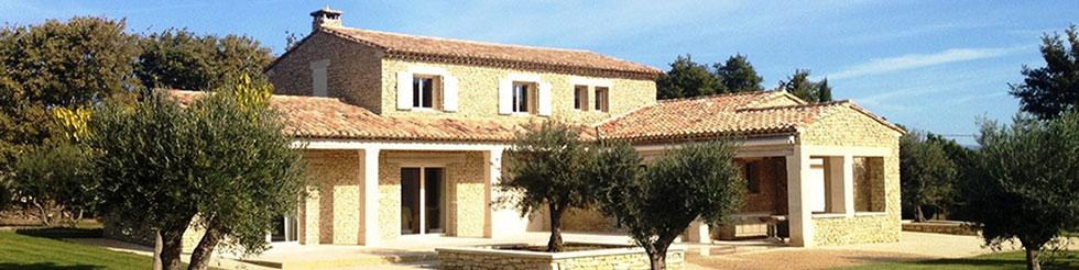 Maison plein pied a carctère de la provence