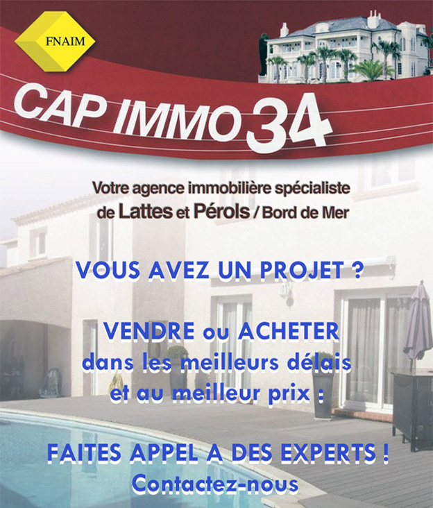 Capimmo 34 agence immobiliere pour Lattes et Montpellier